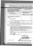 Kootenai County v. Harriman-Sayler Augmentation Record Dckt. 39071
