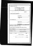Alpine Village Co. v. City of McCall Clerk's Record v. 1 Dckt. 39580