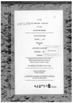 State v. McAmis Clerk's Record Dckt. 40718