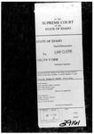 State v. Orr Clerk's Record v. 1 Dckt. 39161