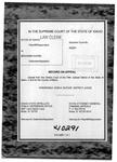 State v. Dugan Clerk's Record v. 1 Dckt. 40291