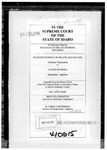 In the Matter of the Estate of Melvin Peterson Clerk's Record v. 2 Dckt. 40615