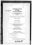 In the Matter of the Estate of Melvin Peterson Clerk's Record v. 3 Dckt. 40615