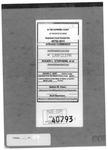Cummings v. Stephens Clerk's Record v. 1 Dckt. 40793