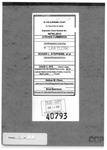 Cummings v. Stephens Clerk's Record v. 6 Dckt. 40793