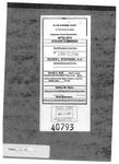 Cummings v. Stephens Clerk's Record v. 8 Dckt. 40793