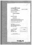 Parvin v. State Clerk's Record v. 1 Dckt. 40824