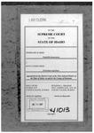 Reed v. Reed Clerk's Record v. 5 Dckt. 41013