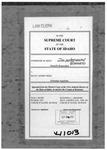Reed v. Reed Clerk's Record v. 6 Dckt. 41013