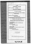 Plane Family Trust v. Skinner Clerk's Record v. 3 Dckt. 41448