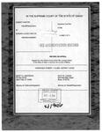 Kantor v. Kantor Clerk's Record v. 5 Dckt. 41946