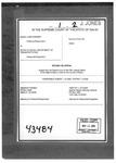 Warner v. Dept of Transportation Clerk's Record v. 1 Dckt. 43484