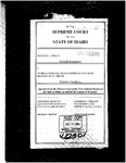 Kelly v. Wagner Clerk's Record v. 1 Dckt. 42301