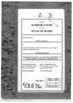 Frantz v. Hawley Troxell Ennis & Hawley LLP Clerk's Record v. 2 Dckt. 43576
