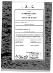 Barrett v. Hecla Min. Co. Clerk's Record v. 3 Dckt. 43639