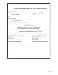 Johnson v. State Clerk's Record Dckt. 42857