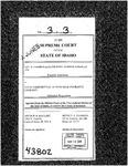 Harmon v. State Farm Mut. Auto. Ins. Co. Clerk's Record v. 3 Dckt. 43802