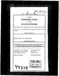 Dunn v. Idaho State Tax Com'n Clerk's Record Dckt. 44378