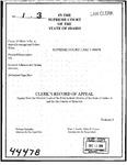 Couer D'Alene Tribe v. Johnson Clerk's Record Dckt. 44478