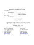 State v. Kerr Appellant's Brief Dckt. 44740