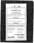 Irish v. Hall Clerk's Record v. 2 Dckt. 44794