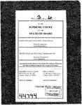 Irish v. Hall Clerk's Record v. 3 Dckt. 44794