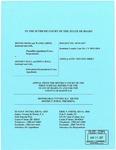Irish v. Hall Appellant's Brief 2 Dckt. 44794