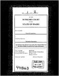 Haight v. Idaho Department of Transp. Clerk's Record Dckt. 44863