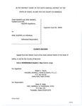 Barnes v. Jackson Clerk's Record Dckt. 44894