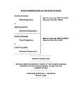 State v. McGraw Appellant's Brief Dckt. 44935