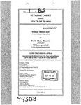 Valiant Idaho, LLC v. North Idaho Resorts, LLC Clerk's Record v. 1 Dckt. 44583