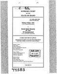 Valiant Idaho, LLC v. North Idaho Resorts, LLC Clerk's Record v. 11 Dckt. 44583