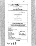 Valiant Idaho, LLC v. North Idaho Resorts, LLC Clerk's Record v. 3 Dckt. 44583