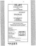 Valiant Idaho, LLC v. North Idaho Resorts, LLC Clerk's Record v. 35 Dckt. 44583
