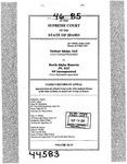 Valiant Idaho, LLC v. North Idaho Resorts, LLC Clerk's Record v. 46 Dckt. 44583