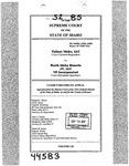Valiant Idaho, LLC v. North Idaho Resorts, LLC Clerk's Record v. 52 Dckt. 44583