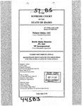 Valiant Idaho, LLC v. North Idaho Resorts, LLC Clerk's Record v. 57 Dckt. 44583