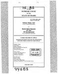 Valiant Idaho, LLC v. North Idaho Resorts, LLC Clerk's Record v. 75 Dckt. 44583