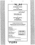Valiant Idaho, LLC v. North Idaho Resorts, LLC Clerk's Record v. 78 Dckt. 44583