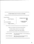 State v. Merrill Clerk's Record Dckt. 44822