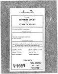 Eastman v. Farmers Insurance Company Clerk's Record v. 1 Dckt. 44889