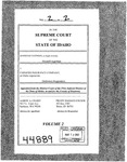Eastman v. Farmers Insurance Company Clerk's Record v. 2 Dckt. 44889