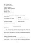 State v. Matthews Appellant's Brief Dckt. 45295