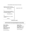Scout, LLC v. Truck Insurance Exchange Respondent's Brief Dckt. 45349