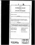 Ricks v. State Contractors Board Clerk's Record Dckt. 45396