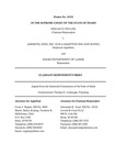 Keller v. Ameritel Inns, Inc. Respondent's Brief Dckt. 45555