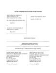 Re: Medical Indigency Application of C.H. Respondent's Brief Dckt. 45614