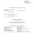 McFarland v. Liberty Insurance Corporation Appellant's Reply Brief Dckt. 45781