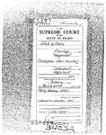 State v. Sanchez Clerk's Record v. 1 Dckt. 34032