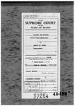 Murphy v. State Clerk's Record v. 1 Dckt. 37254